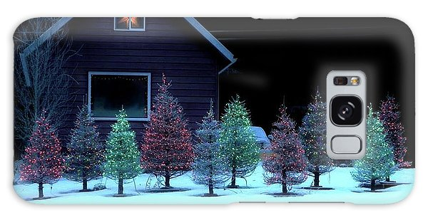 Galaxy Case featuring the photograph Christmas In Petersburg by Laura Wong-Rose