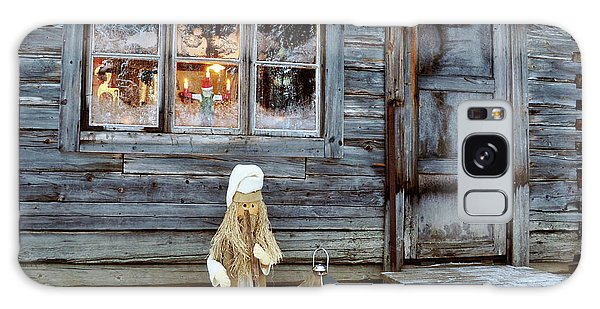 christmas in Scandinavia Galaxy Case by Tamara Sushko