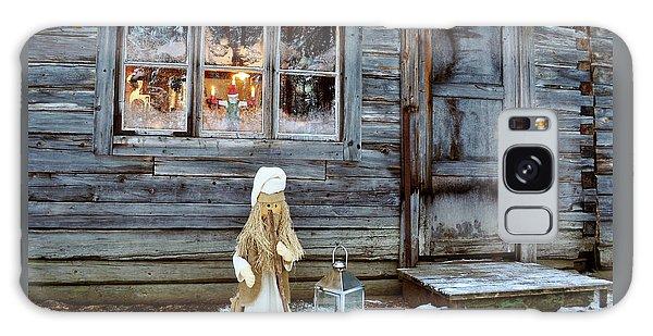 christmas in Scandinavia Galaxy Case
