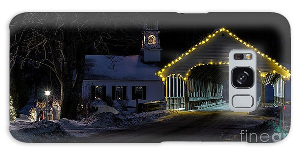 Christmas In Stark New Hampshire Galaxy Case