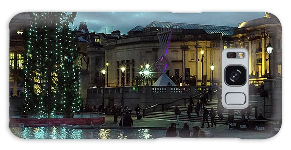 Christmas In Trafalgar Square, London 2 Galaxy Case