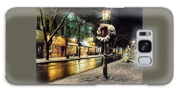 Wellsboro Galaxy Case - Christmas In Wellsboro, Pa by Bernadette Chiaramonte