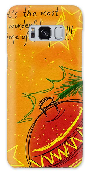 Christmas Is Coming  Galaxy Case