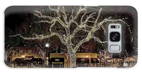 Christmas Lights Galaxy Case by Alan Toepfer