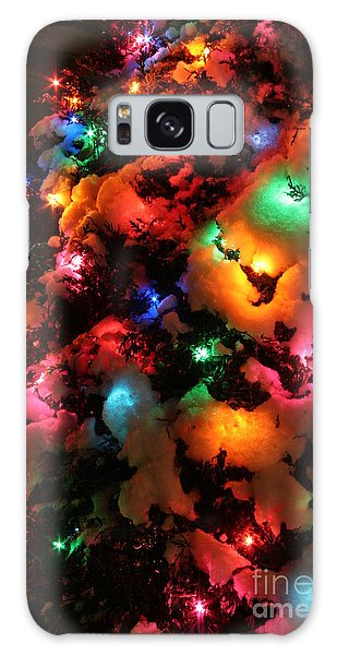 Christmas Lights Coldplay Galaxy Case