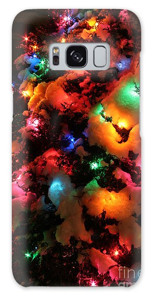 Coldplay Galaxy Case - Christmas Lights Coldplay by Wayne Moran