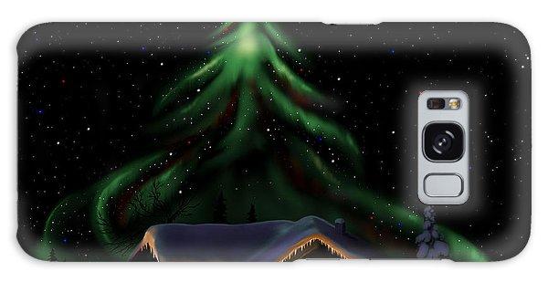 Christmas Lights Galaxy Case