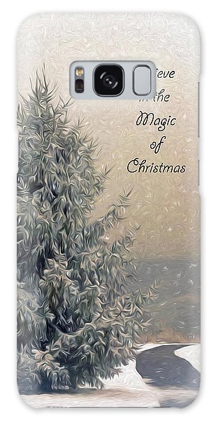 Christmas Magic Galaxy Case