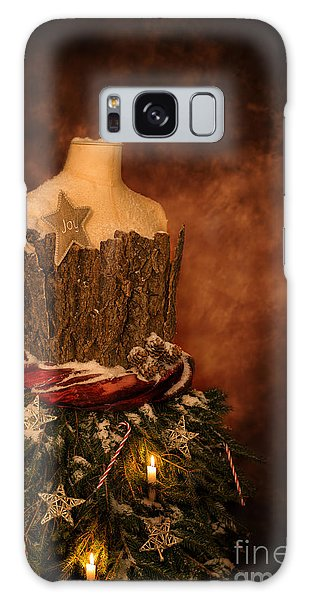 Dress Form Galaxy Case - Christmas Mannequin by Amanda Elwell