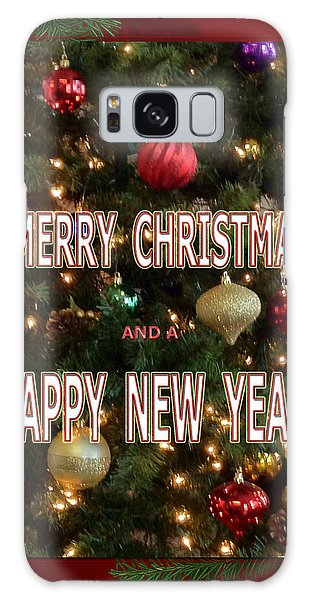 Christmas New Year Card Galaxy Case