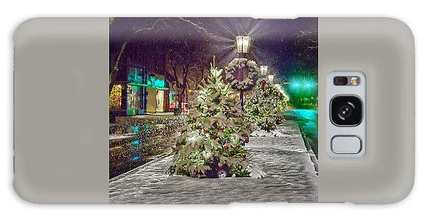 Wellsboro Galaxy Case - Christmas On Main Street by Bernadette Chiaramonte