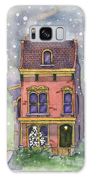Christmas On North Hill Galaxy Case
