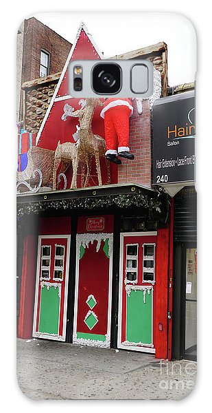 Christmas On Sherman Avenue  Galaxy Case