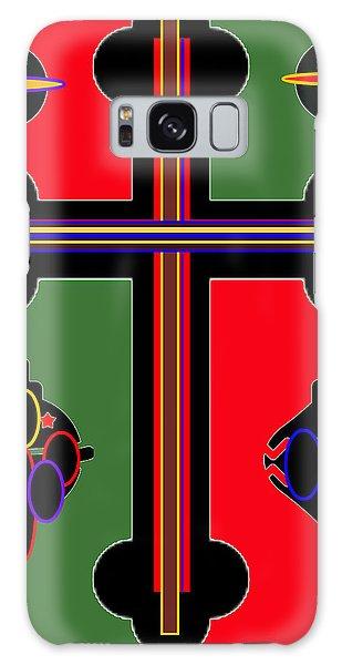 Christmas Ornate 1 Galaxy Case