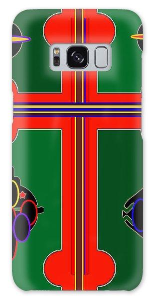 Christmas Ornate 3 Galaxy Case
