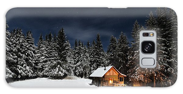Woods Galaxy Case - Christmas by Paul Itkin