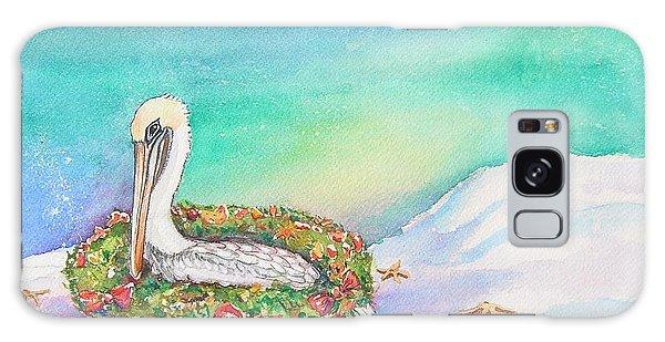 Christmas Pelican Galaxy Case