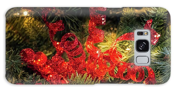 Christmas Red Galaxy Case