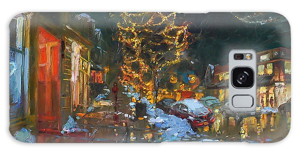 Reflections Galaxy Case - Christmas Reflections by Ylli Haruni