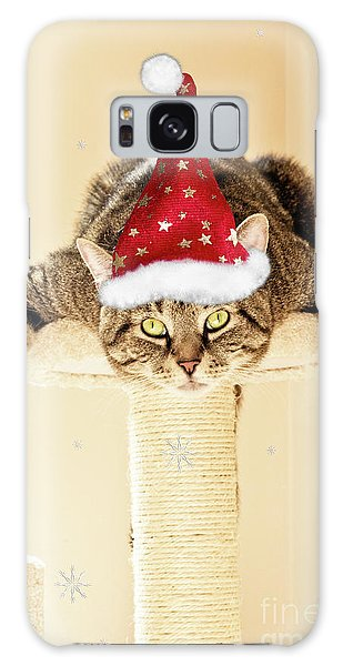 Christmas Splat Cat Galaxy Case