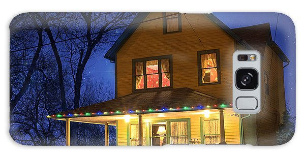 Christmas Story House Galaxy Case