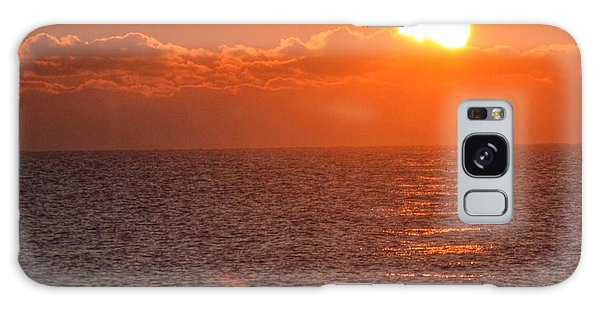 Christmas Sunrise On The Atlantic Ocean Galaxy Case