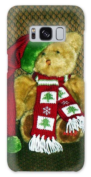 Christmas Teddy Bear Galaxy Case