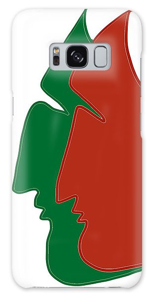 Christmas Together Galaxy Case
