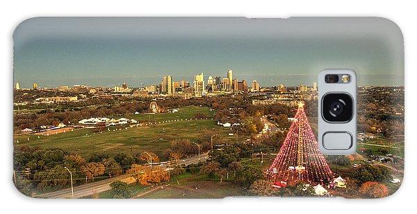 Christmas Tree In Austin Galaxy Case