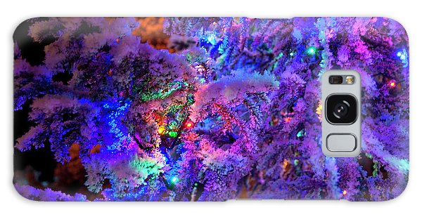 Christmas Tree Night Decoration Galaxy Case