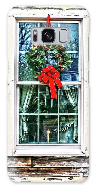 Christmas Window Galaxy Case