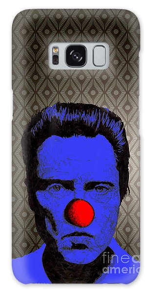 Christopher Walken 1 Galaxy Case by Jason Tricktop Matthews