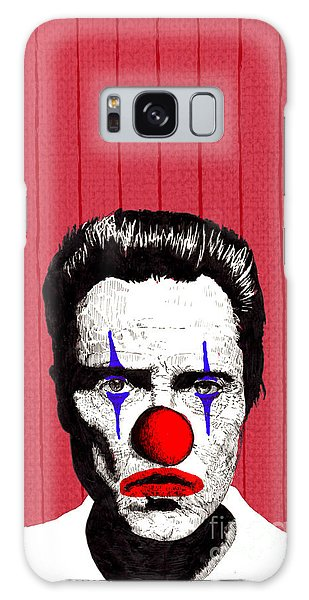 Christopher Walken 2 Galaxy Case by Jason Tricktop Matthews