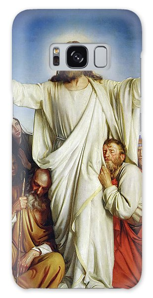 Annunciation Galaxy Case - Christus Consolator by Carl Heinrich Bloch
