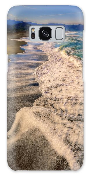 Chromatic Aberration At The Beach Galaxy Case