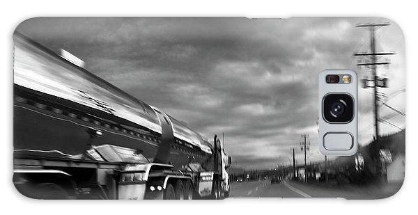Chrome Tanker Galaxy Case by Theresa Tahara