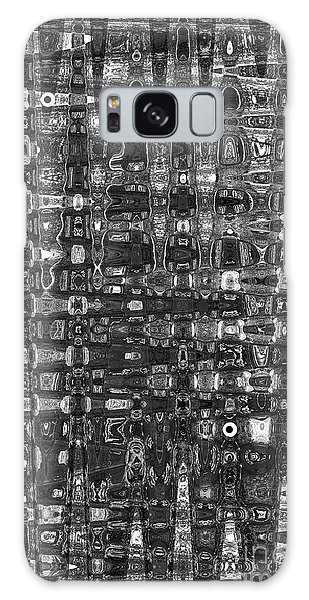 Chromosome 22 Bw Galaxy Case by Diane E Berry