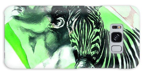 Chronickles Of Zebra Boy   Galaxy Case