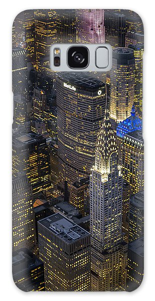 Chrysler Building Aerial View Galaxy Case
