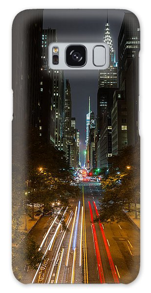 Chrysler Building At Night Galaxy Case