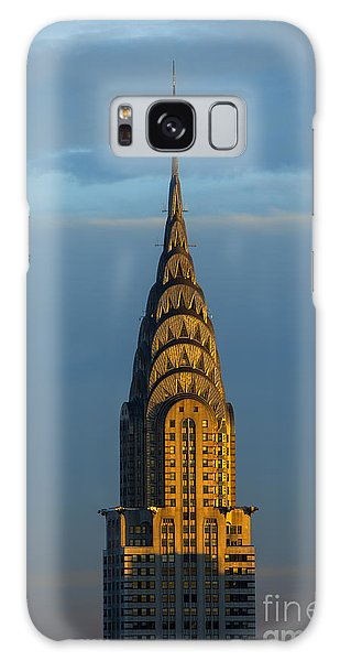 New Galaxy Case - Chrysler Building In The Evening Light by Diane Diederich