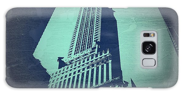 Chrysler Building Galaxy Case - Chrysler Building  by Naxart Studio