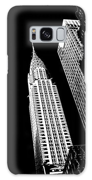 Chrysler Building Galaxy Case - Chrysler Nights by Az Jackson