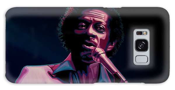 Rolling Stone Magazine Galaxy Case - Chuck Berry by Paul Meijering