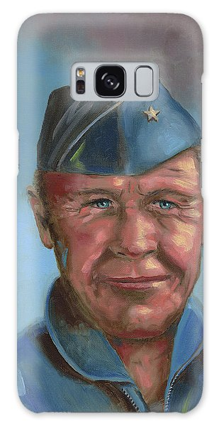 Chuck Yeager Galaxy Case