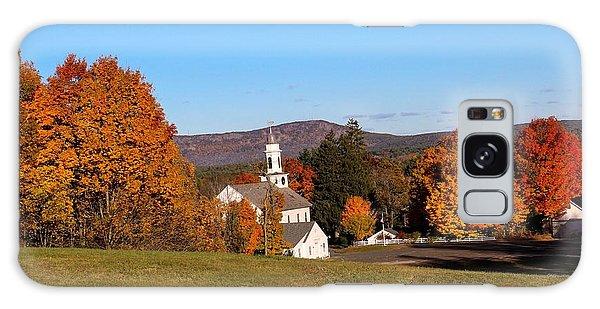 Church And Mountain Galaxy Case