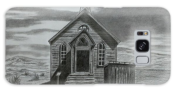 Church  At Bodie  Galaxy Case