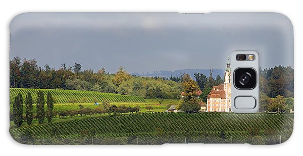 Church Birnau Lake Constance In Great Landscape Galaxy Case by Matthias Hauser