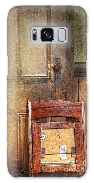 Church Chair Galaxy Case by Craig J Satterlee