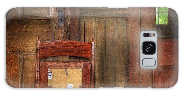 Church Chair II Galaxy Case by Craig J Satterlee